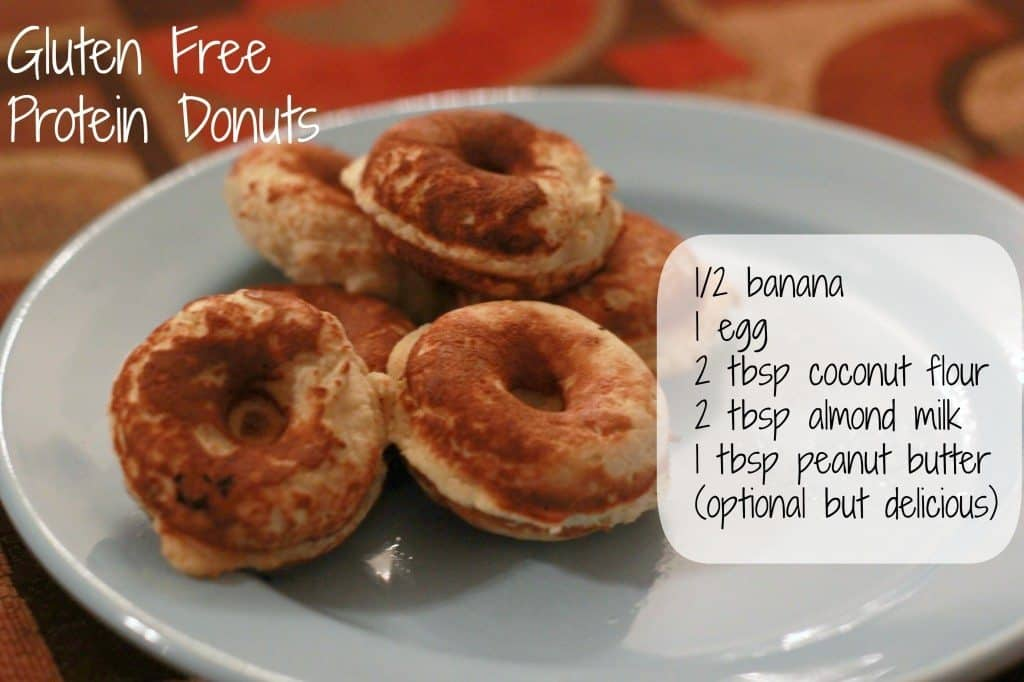 Gluten Free Protein Donuts I Heart Vegetables