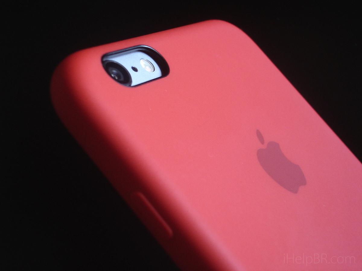 Capa de silicone da Apple para o iPhone 6 e 6s  vale a pena comprar ... 50938802be