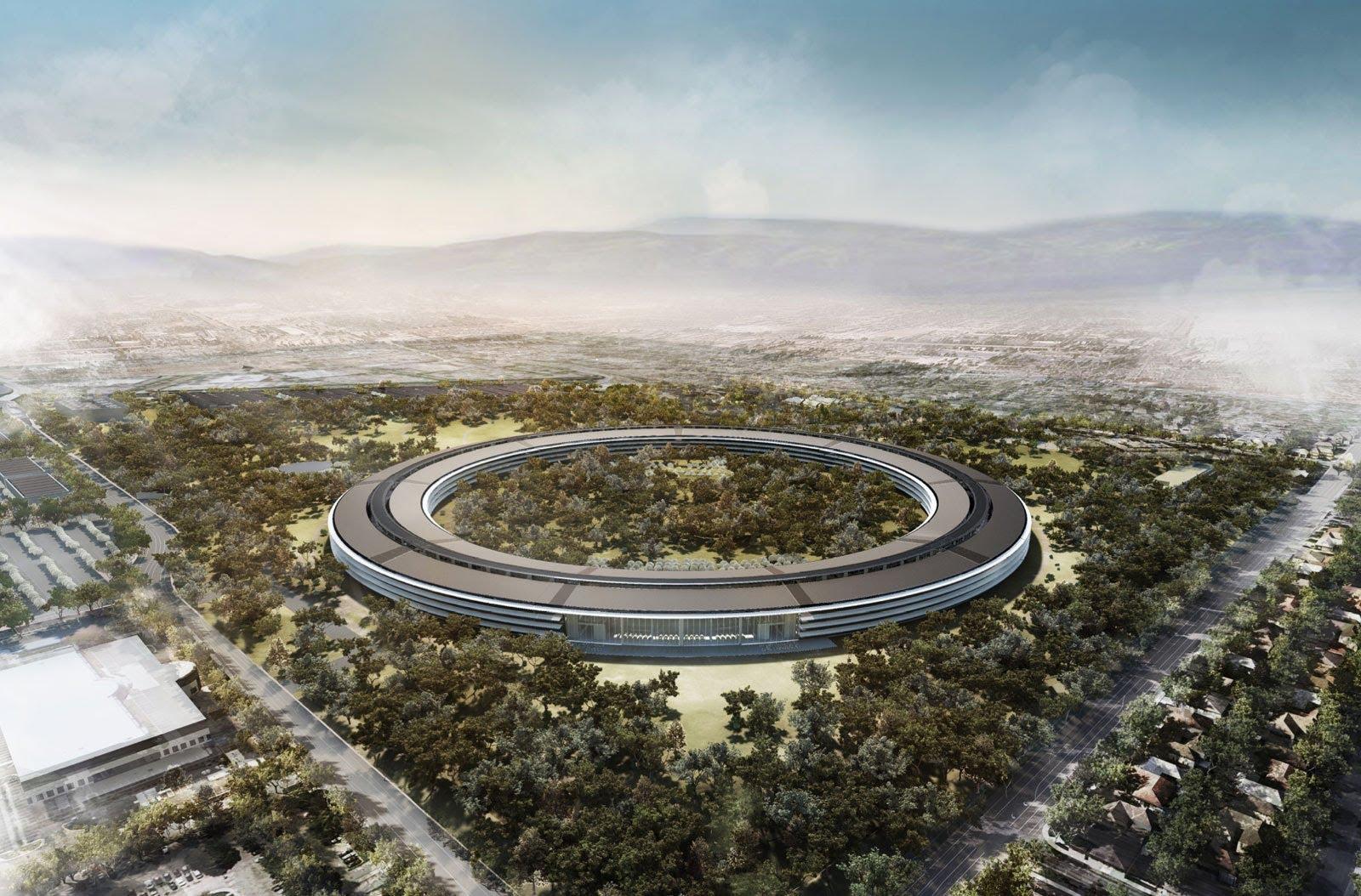 Nova sede da Apple começa a funcionar em abril e terá