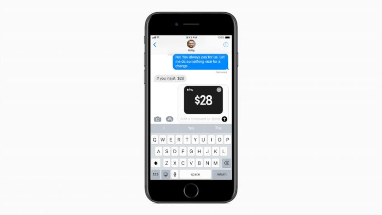 Envio de dinheiro via iMessage no iOS 11.