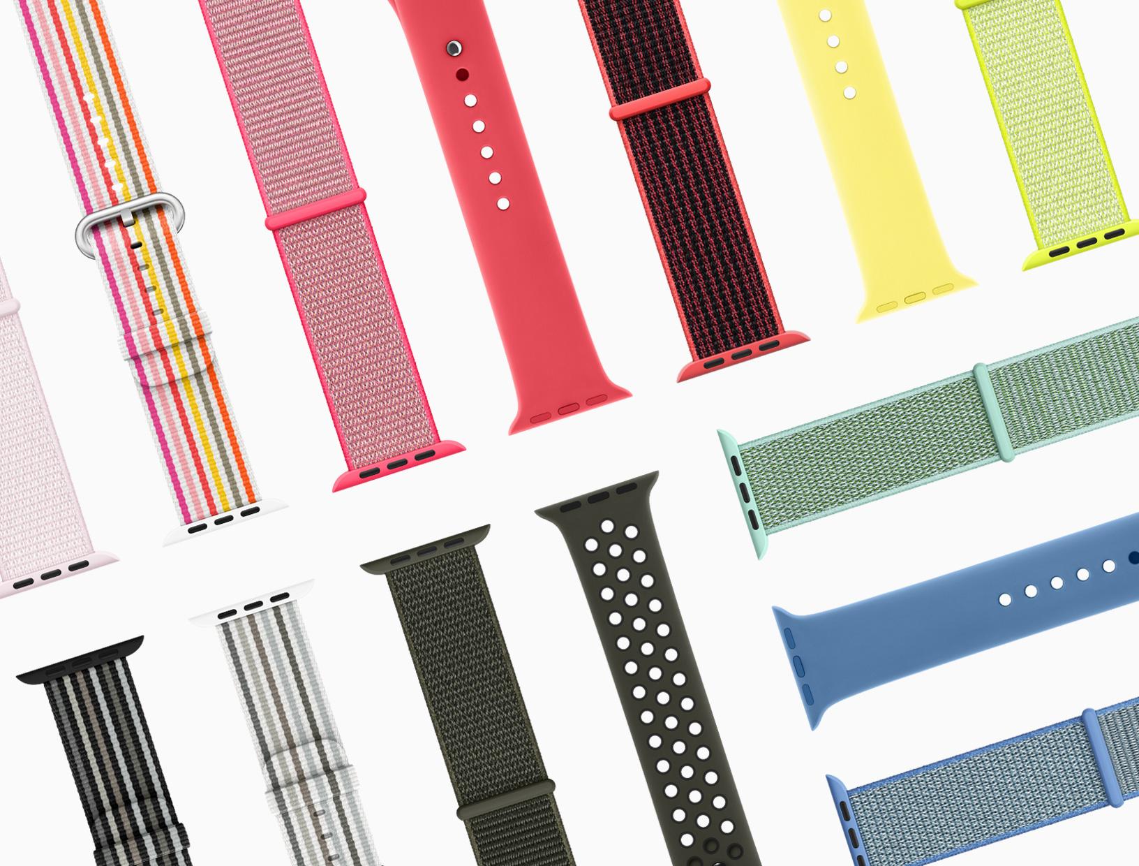 bbce564e385 Serão lançados novos modelos das pulseiras em nylon e linhas Sport