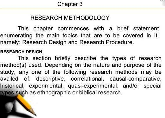 Research design phd thesis