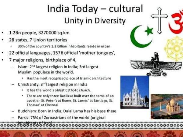 Article writing on unity in diversity symbol or even