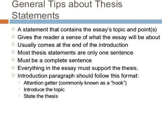 College Level Thesis Paragraph Legal Writing
