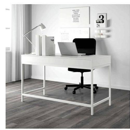 My writing desk schreibtisch ikea ran around and around the