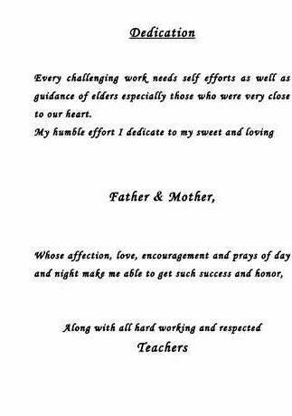 Dedication Of Thesis To Parents Homework Writing Service