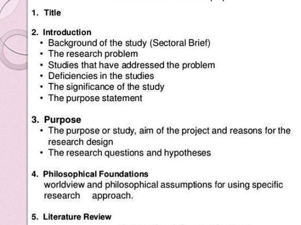 Sample research design+thesis proposal outline friend read it