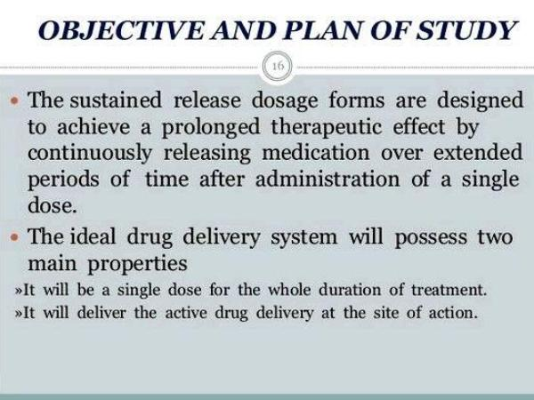 Sustain release tablets thesis writing to be