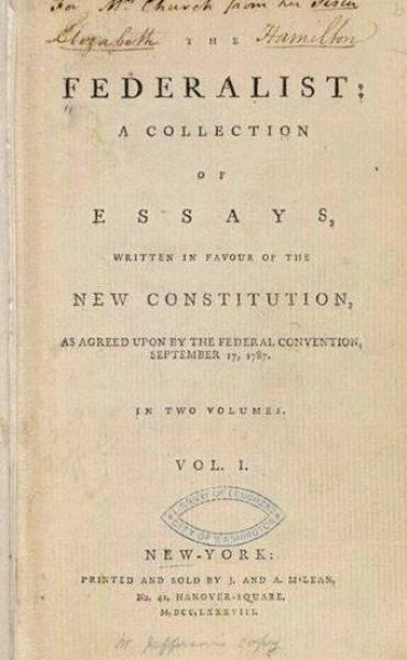 The federalist no 51 thesis writing 29 Concerning the Militia