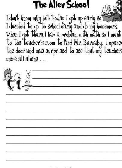 Writing A Mystery Story Year 3 English Worksheets