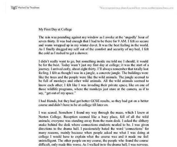 First Day Of School Essay - My first day in school essay - ayucar