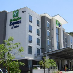 Hotels With Kitchens In San Diego Stainless Steel Kitchen Holiday Inn Express Suites Mission Valley Hotel