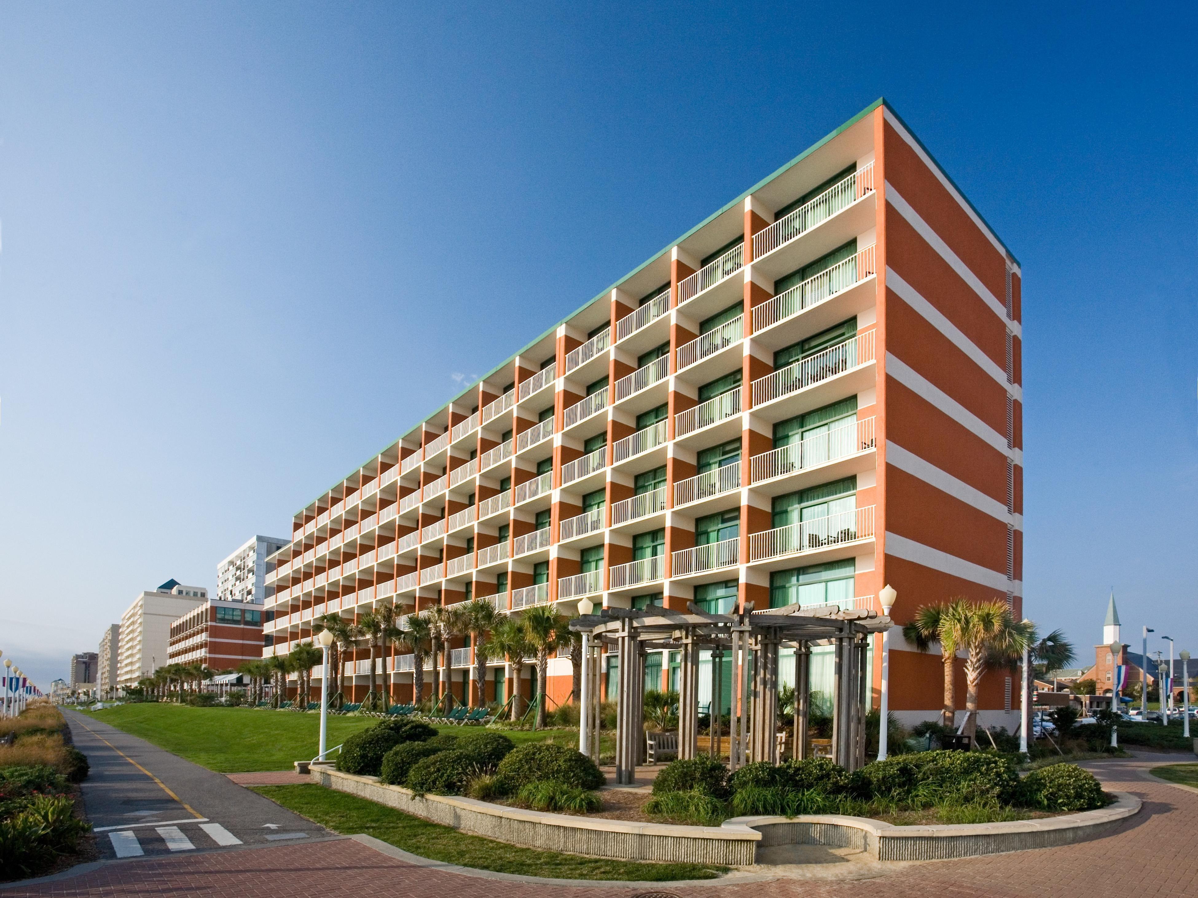 North Virginia Beach Boardwalk Hotels Holiday Inn Suites
