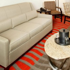 Living Room Furniture Newark Nj Modern Sofas Airport Ewr Hotel Holiday Inn Suite Area With Sofa Bed And Dining Table