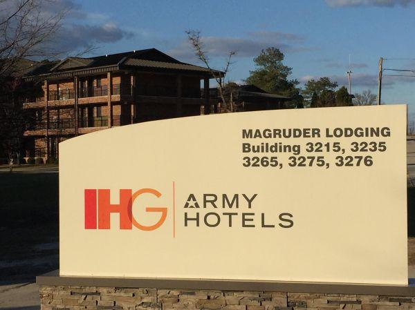 IHG Army Hotels Magruder Transient Area on Fort Jackson