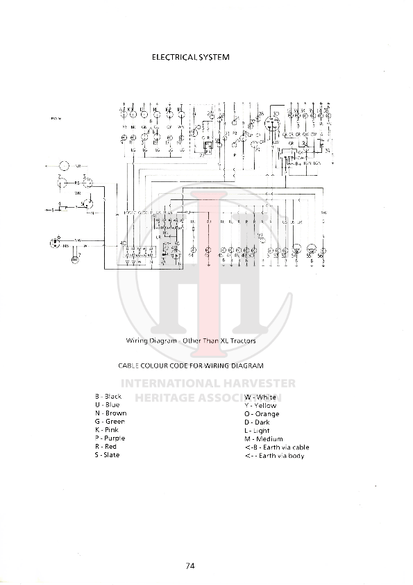 85 series L Wiring Diagram
