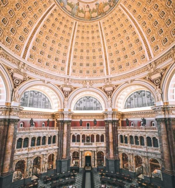 Library Congress In Washington Dc