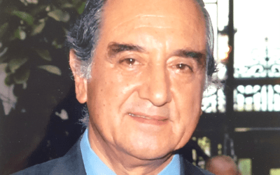Enrique Lagos, outstanding member of the IHLADI, passed away