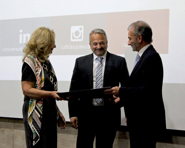 Sixto Sánchez Lorenzo, Honorary Professor of the Blas Pascal University of Cordoba