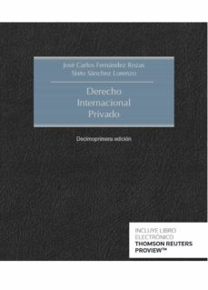 "New edition of ""Derecho internacional privado"" by J. C. Fernández Rozas & S. A. Sánchez Lorenzo"