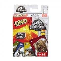 ihocon: Mattel Jurassic World Uno Card Game 侏羅紀世界紙牌遊戲