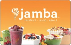 ihocon: $15 Jamba Juice Gift Card 只賣 $10 - Email delivery