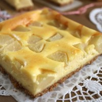 Pastel de queso al horno de Melocotón (Cheesecake de Durazno)