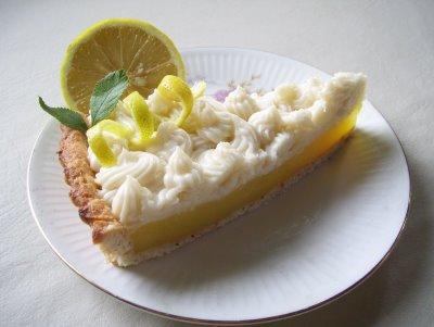 Pie de Limón para veganos y vegetarianos