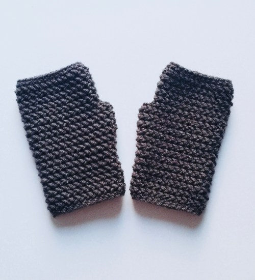 Lt Click Fingerless Gloves