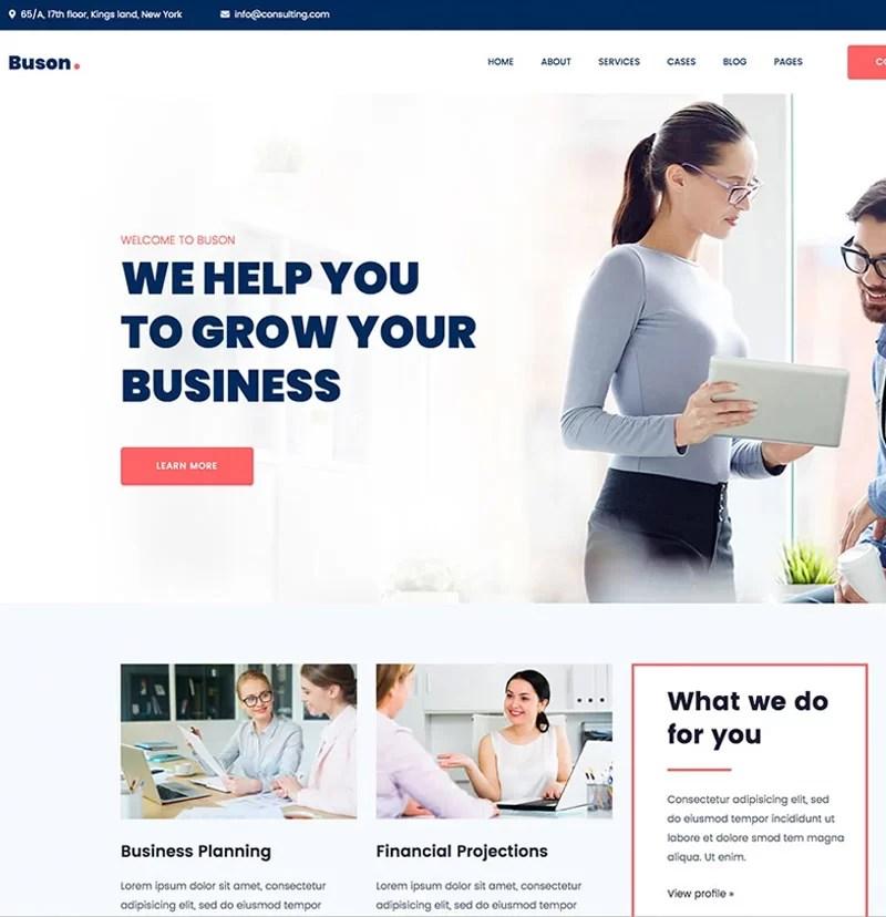Beaytiful Static Website – Buson