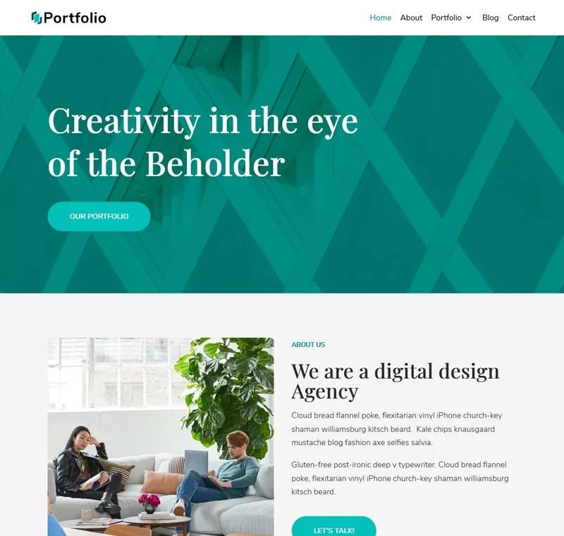 Beaytiful Dynamic Website – Creative Portfolio