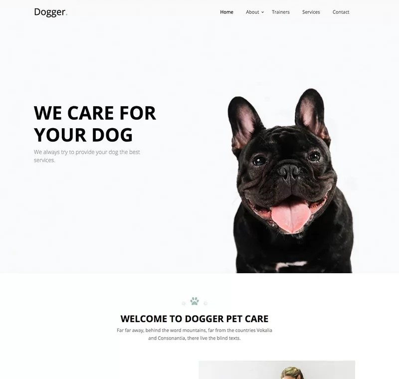 Beaytiful Static Website – Dogger
