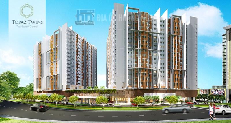Topaz Twins dự án căn hộ cao cấp với không gian sống xanh