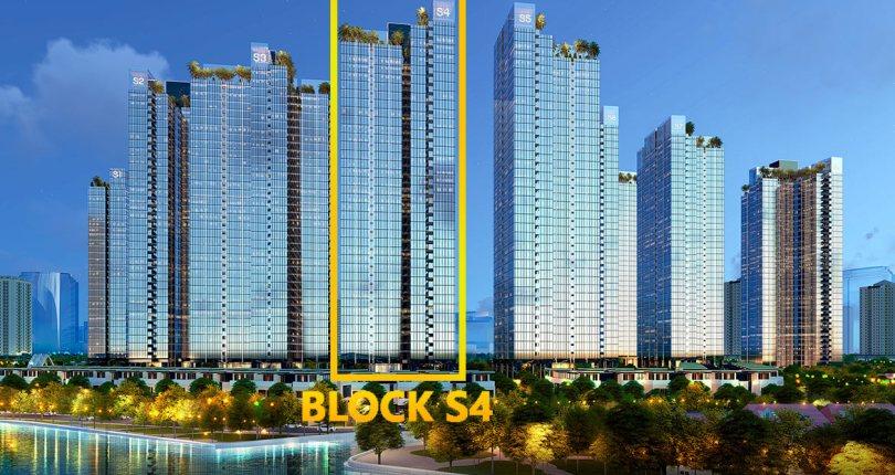 Tháp S4 Sunshine City Sài Gòn đẹp nhất dự án?