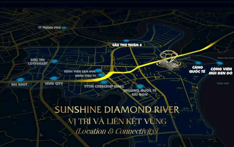 [VIDEO] Location of Sunshine Diamond River District 7 is worth for buying?
