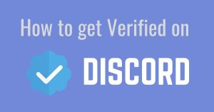 How to get Verified on Discord