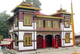 Bhutia Busty Gompa, West Bengal
