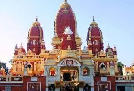 Lakshmi Narayan Temple in Delhi, India