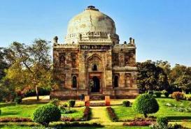 Lodi Gardens in Delhi India