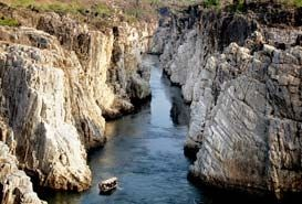 Marble Rocks of Bhedaghat