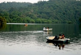 Mayem Lake In Goa, India