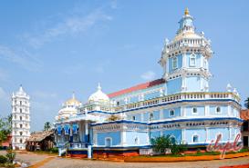 Shri Mahalsa at Mardol Goa, India