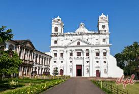 St. Cajetan Church in Goa, India