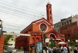 St. Stephens' Church in Delhi, India