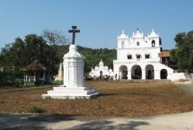 The Church of St. Anne Goa, India