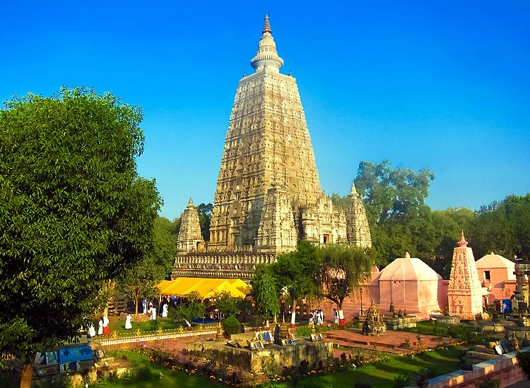 Mahabodhi Temple, Vacation in India