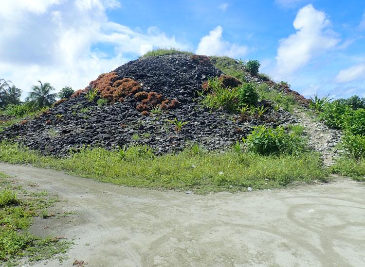 Isdhoo Buddhist Stupas in Maldives