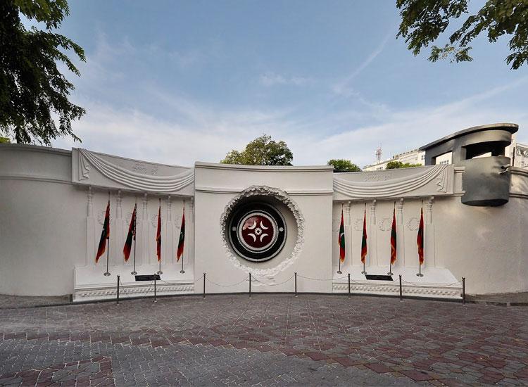 Victory memorial, Maldives