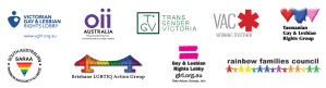 Rainbow Votes Coalition member logos