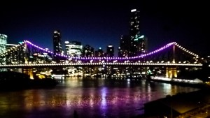 Brisbane's Story Bridge lit for Intersex Awareness Day